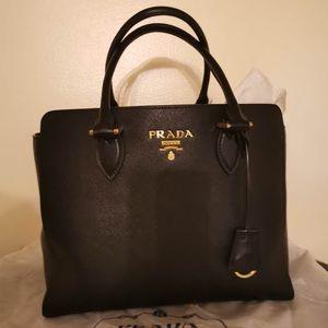 Prada  Black Totes/Shoulder Bag